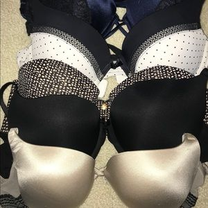 Gently used bras